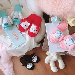 [PO] Sanrio Characters Bedroom Slipper