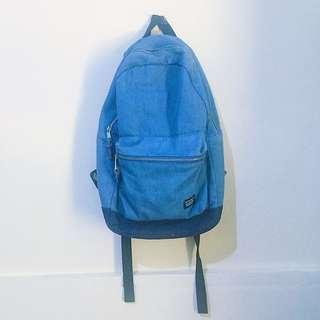 (ori) new look denim backpack