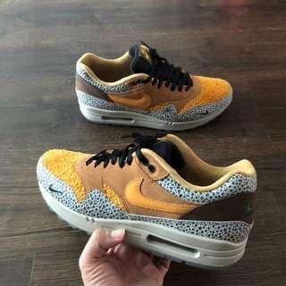 Price firm/no Trade : us10 Nike Air Max 1 Atmos safari japan