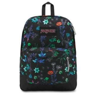 Original JanSport Black Label Superbreak Backpack - Ghost Garden