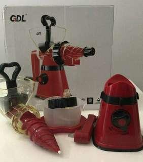 GDL manual juicer and mincer