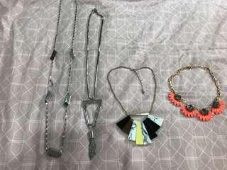 4 x Witchery Necklaces