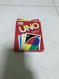 Uno card deck