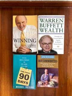 Super deal! Get 4 great books . Selling cheap