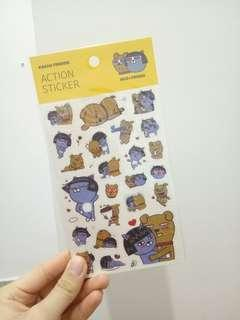 Kakao planner Stickers