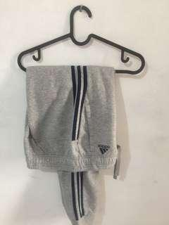 Adidas trackpants 3 stripes