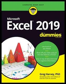 Microsoft Excel 2019 for Dummies | English | 564 pages | True PDF | 13.9 MB