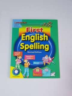 First English Spelling (2 audio CDs included), Children's Educational Book