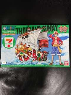 One Piece海賊王模型: 7-11限定Grand Ship Collection 烈陽號