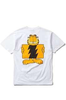 The Hundreds x Garfield Wildfire Logo Tshirt - White