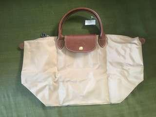 Brand new longchamp short handle authentic