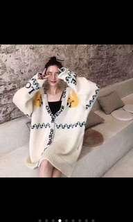 🚚 Trendy super boxy loose fit cardigan