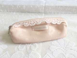 Jill Stuart 🎀 迷你化妝袋 化妝包 mini make up bag lace 蕾絲