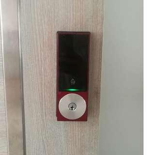 Installation Service for Keywe Digital Lock on HDB/BTO/Condo wooden door $160 (Call 88668884)