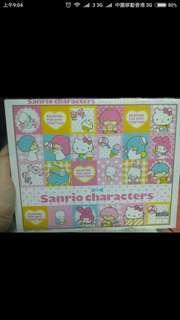 Sanrio puzzle Twins Stars kitty sam