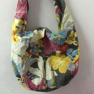 Floral Fabric Bag