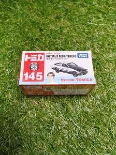Initial D AE86 Tomica Tomy Takara