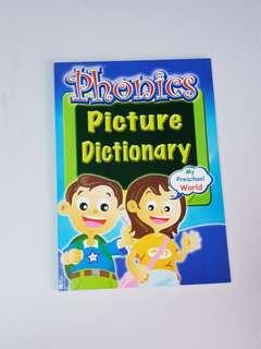 Phonics: Picture Dictionary, Children's Educational Book