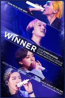 Winner Concert Ticket