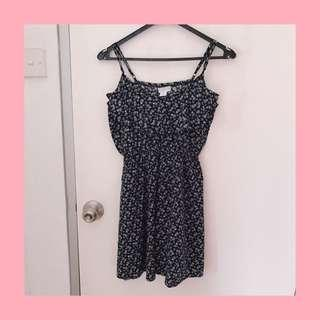 Cotton On skater dress with front ruffle