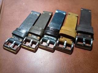手工錶帶(香港製造)
