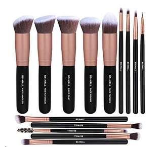 美國代購BS-Mall化妝掃set BS-Mall Premium brush set