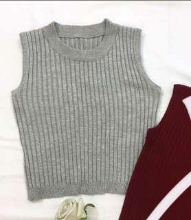 [BN] Knitted Sleeveless Top