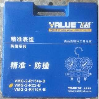 VMG 2 R22  B 雙表閥 冷媒 高 低 壓力錶