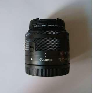 [99.9% New] Canon EF-M 15-45mm f/3.5-6.3 IS STM (Kit 鏡)