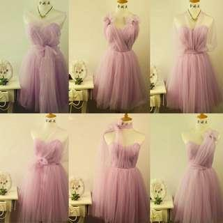 Bridesmaid Convertible dress