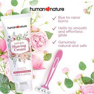 Human Nature Shaving Cream 100ml