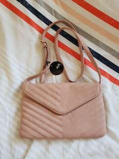 Brand New with Tag Dotti Blush Side Bag/Clutch