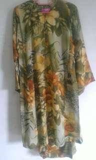 Preloved Baju Kurung Pahang Saiz M