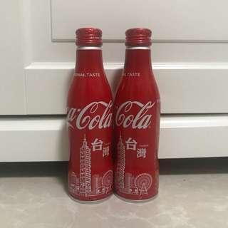 [全新] Coca Cola 可口可樂台灣限定2018紀念鋁樽可樂