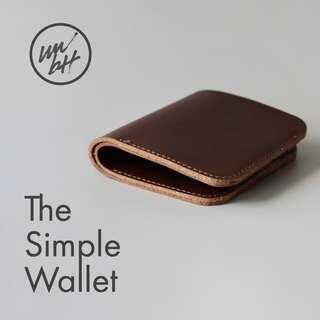 The Simple Bi-fold Wallet by wwbtt