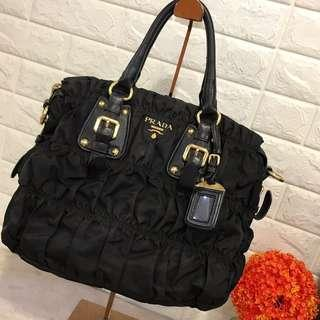Hot sale prada nylon tote