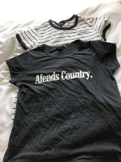 Afends t shirts