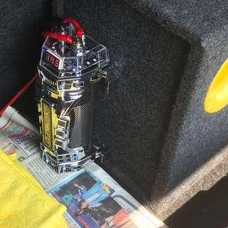 🚚 大容量低音炮—4.0法拉汽車電容穩壓器