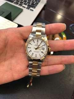 Rolex 15203 full set.34mm automatic