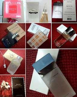 AUTHENTIC PERFUME TESTERS