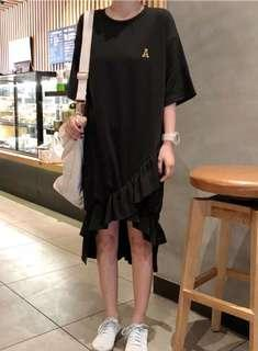 🚚 Little Black Mermaid Tail Dress