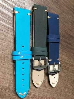 20mm watch strap leather