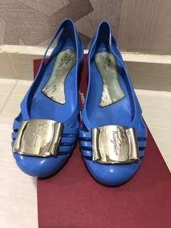 Preloved - Salvatore Ferragamo Bermuda (blue) 💯 authentic