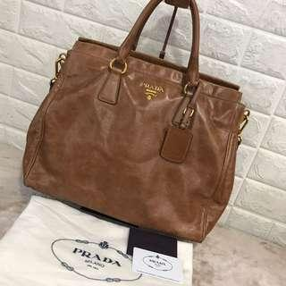 Prada leather full set  Bag