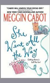 EBOOK she went all the way by meg cabot