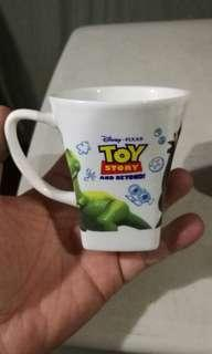 Toy story mug from sanrio japan