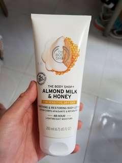 The Body Shop Body Lotion almond milk honey dry sensitive