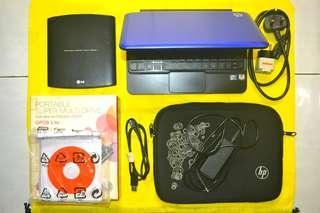 HP Mini 210 1066TU + Bonus CD Rom