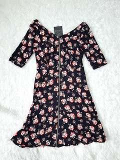 NEW Topshop Floral Dress