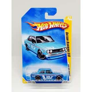 HOT WHEELS 2009 NEW MODELS DATSUN BLUEBIRD 510